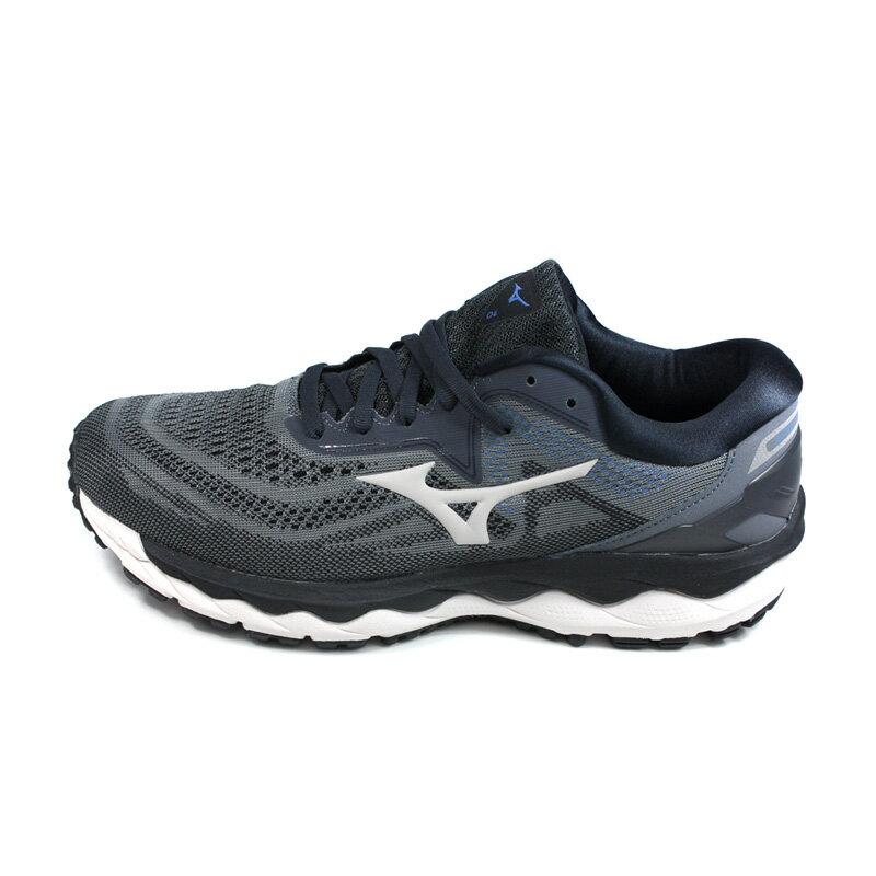 美津濃 Mizuno WAVE SKY 4 SW 慢跑鞋 運動鞋 深灰色 男鞋 JIGC201140 no115 6