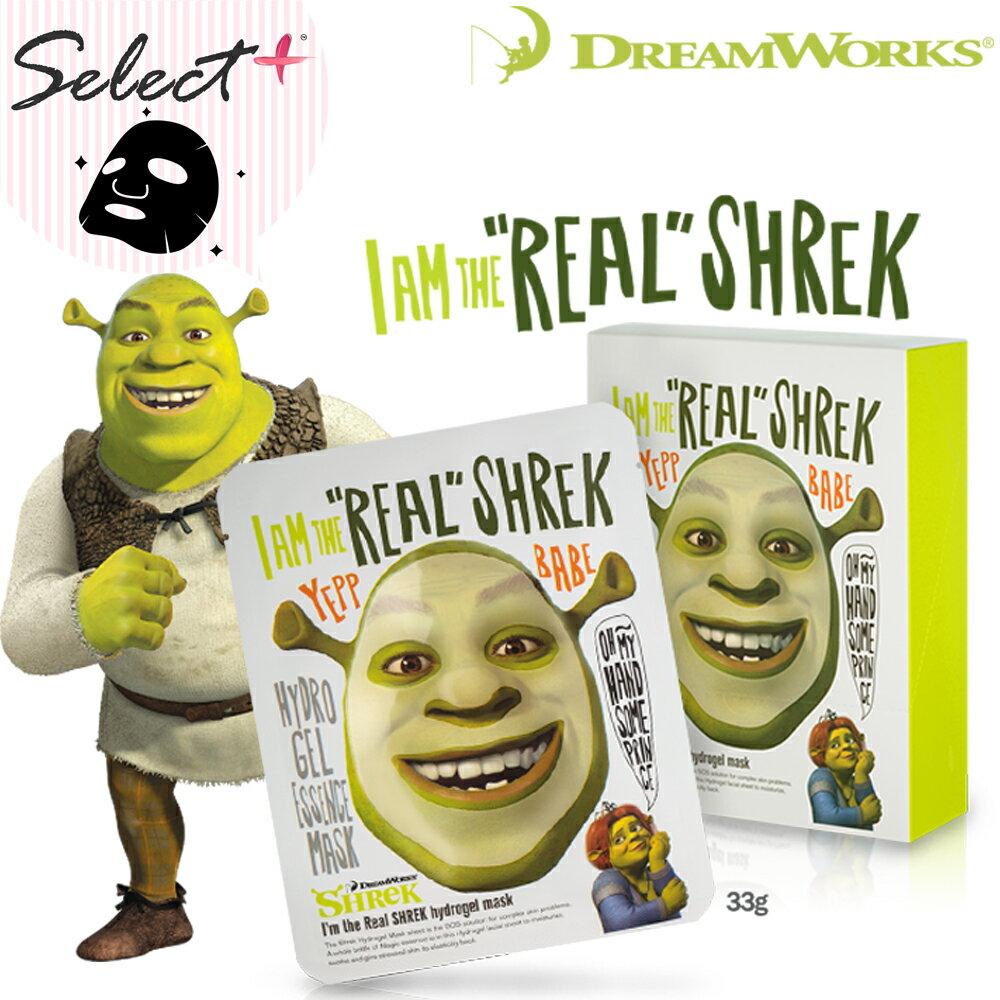 韓國 DreamWorks 夢工廠 我是史瑞克 高保濕凝膠面膜 市價:98元【select+】
