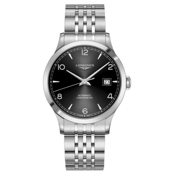 LONGINES浪琴表L28214566開創者優雅經典機械腕錶黑面40mm