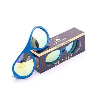 【夏日限時下殺9折】瑞士【SHADEZ】兒童太陽眼鏡設計款-藍色飛機(3-7歲) - 限時優惠好康折扣