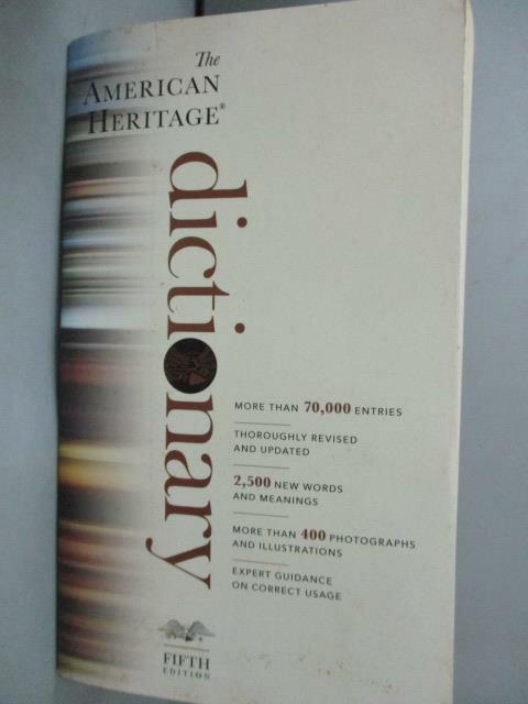 ~書寶 書T1/字典_IJI~American Heritage Dictionary 5