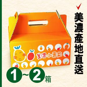 美濃專賣店:美濃橙蜜香番茄(1-2箱運費100元訂購區,每箱450元)