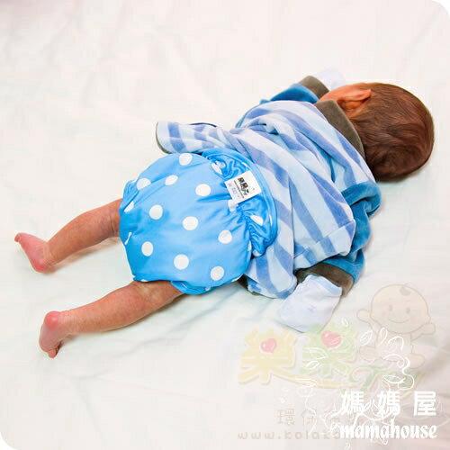 《樂樂環保布尿布兜.釦子款.單一尺寸尿褲兜.J006星空點點》  台灣製.NB~XL.從小穿到大
