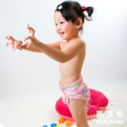 《樂樂環保布尿布兜.釦子款.單一尺寸尿褲兜.J015小河馬》  台灣製.NB~XL.從小穿到大