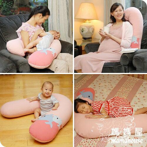 《妳心孕產婦專用V型枕.淑女粉》 孕婦枕.哺乳枕.餵奶墊.學坐枕.大抱枕.側睡枕.輔助枕.雙胞胎哺乳枕