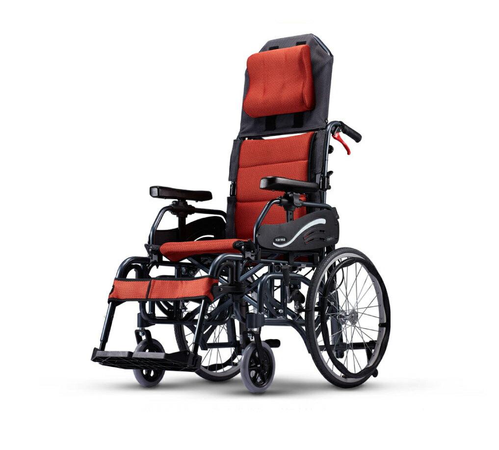 來而康 康揚 鋁合金輪椅/手動輪椅 仰樂多 515 KM-1520.3T 輪椅補助 B款 附加功能A款C款 贈 輪椅置物袋