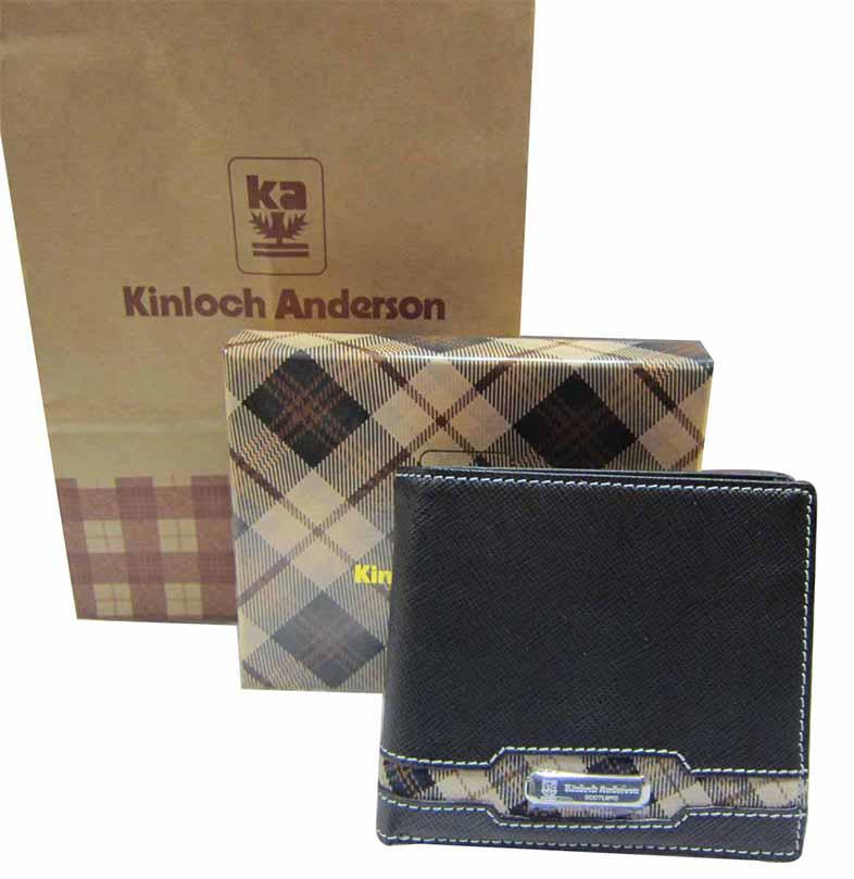 ^~雪黛屋^~Kinloch Anderson 英國專櫃男用短型皮夾 尺寸100^% 牛皮