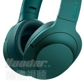 ~曜德大降價~SONY MDR~100ABN 綠色 頭戴式抗噪耳麥 無線藍芽NFC ~