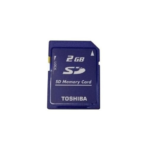 Toshiba 2GB SD 2.0GB SD V1.1 Secure Digital Flash Memory Card for GPS non-SDHC Bulk 0