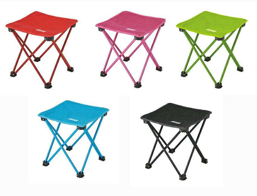 ~露營趣~中和 美國 Coleman 輕便摺疊凳 折疊椅 釣魚凳 釣魚椅 童軍椅 休閒椅
