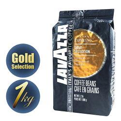 【LAVAZZA義大利極品咖啡】金牌特選 GOLD 咖啡豆1000g
