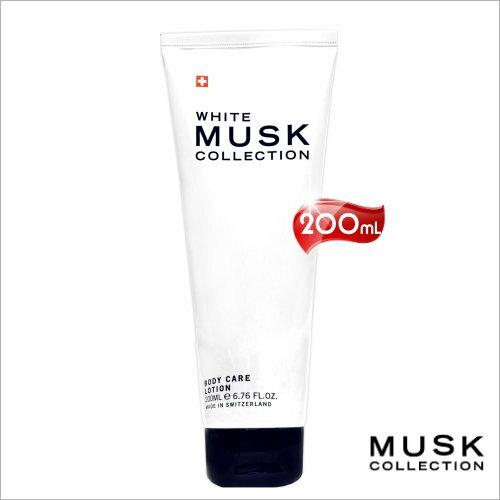 瑞士Musk經典白麝香亮白保濕乳液-200mL [50867]