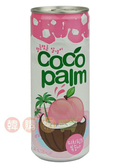 【韓購網】韓國海太水蜜桃風味飲料240ml★韓國海太飲料果汁