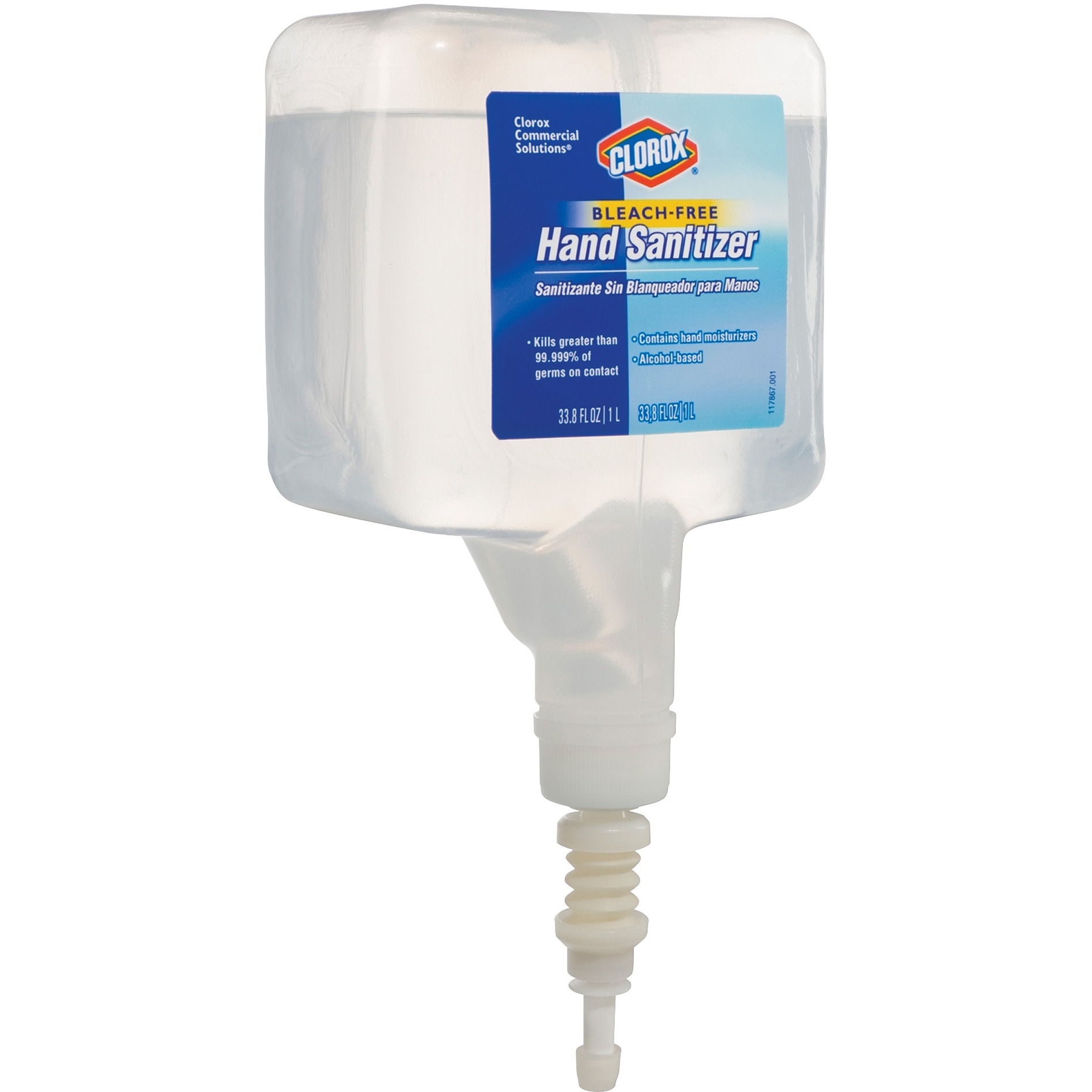 Clorox Hand Sanitizer, 1L Touchless Refill 2