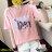 F-DNA★PARIS鐵塔印圖圓領短袖上衣T恤(3色-M-2XL)【ET12699】 0
