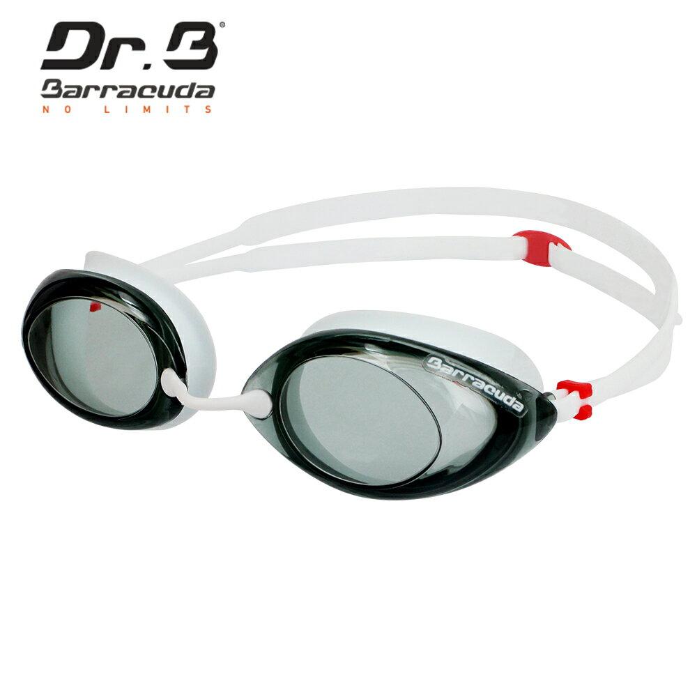 美國巴洛酷達Barracuda 光學度數泳鏡巴博士Dr.B#32295 RACER 白 - 限時優惠好康折扣