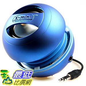 <br/><br/>  最後一個出清價 X-Mini II XAM4-BL Portable Capsule Speaker, Mono, Blue, Bass System, USB _s11<br/><br/>