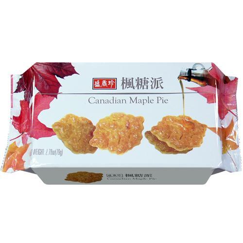 盛香珍楓糖派79g【合迷雅好物商城】
