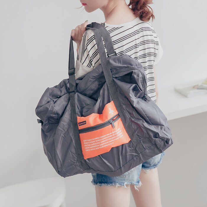 登機包 旅行袋 摺疊收納包【SV6441】快樂生活網