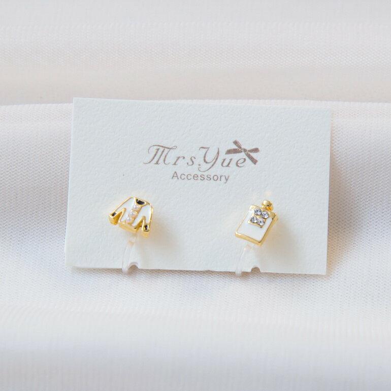 Mrs.Yue&夾式耳環-香奈兒小姐