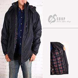 【CS衣舖 】加大尺碼 高機能 防風保暖舖棉外套6600