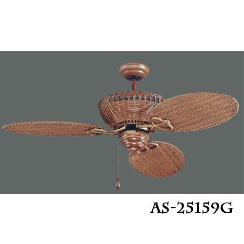 南洋風★52吋吊扇風扇黃藤扇★永光照明AS-25159