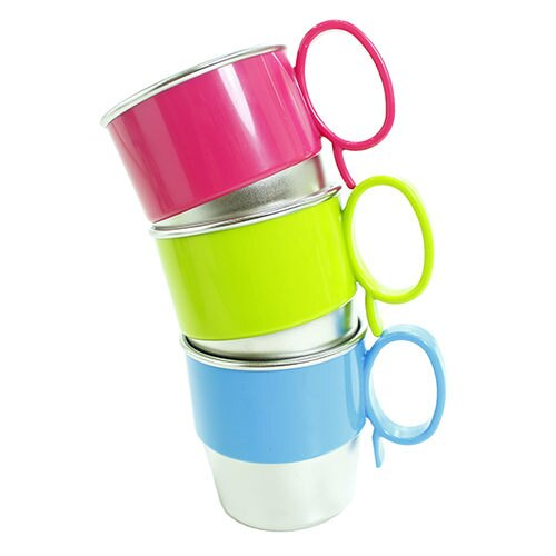 美國 Innobaby stainless cup 9 OZ 不鏽鋼喝水杯 不銹鋼水杯【綠色】