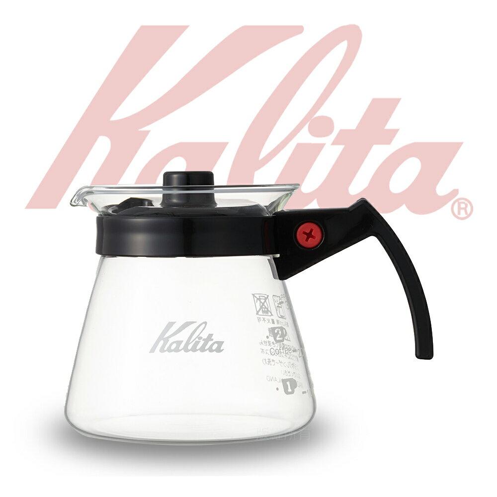 【日本】KALITA手沖耐熱玻璃壺(約300ml)塑膠手把
