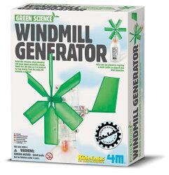 【4M】科學探索系列-風車發電機 Windmill Generator 00-03267