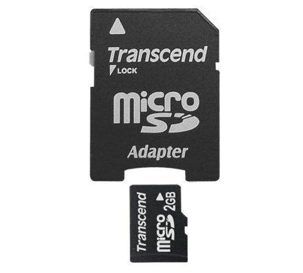 【新風尚潮流】創見記憶卡 2G MicroSD Micro SD 送minisd轉卡 TS2GUSD-2