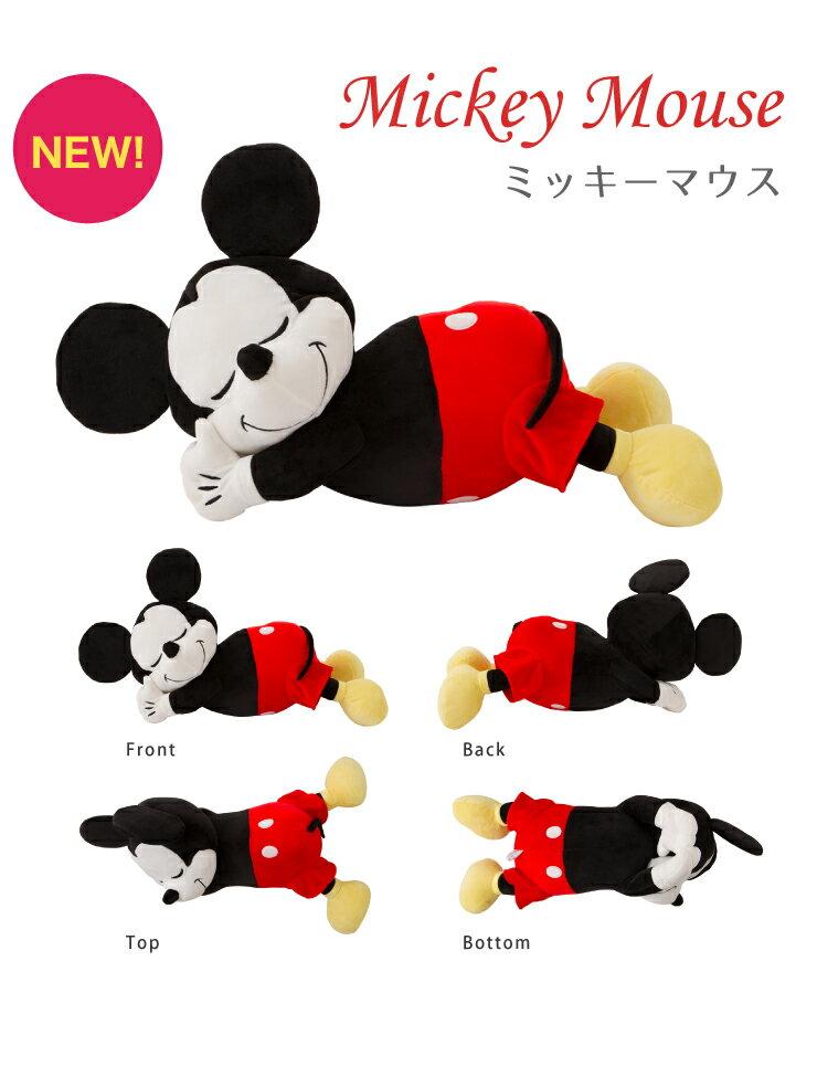 日本Disney 迪士尼 趴睡系列抱枕 療癒 舒壓 抱枕。日本必買 日本樂天代購 日本空運直送 天天買日貨|日本樂天熱銷Top
