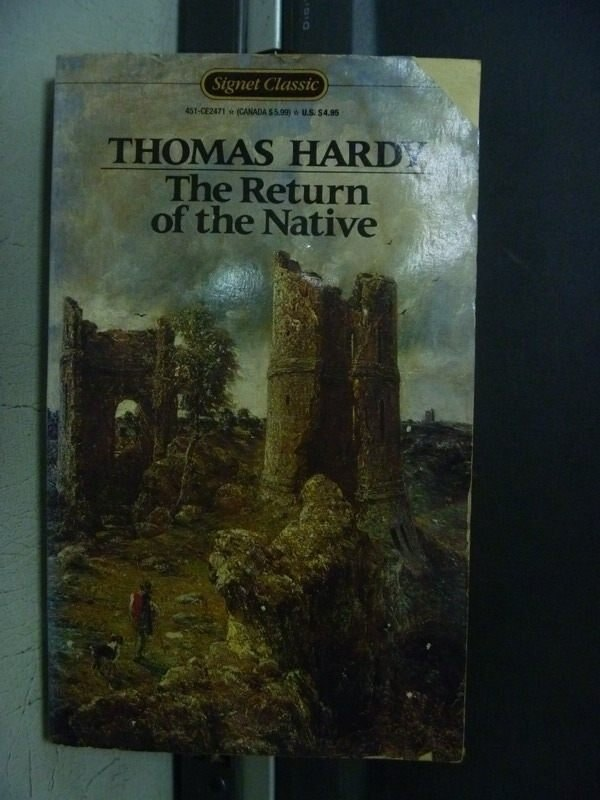 【書寶二手書T6/原文小說_OEM】The Return of the Native_Thomas Hardy