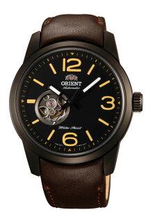 ORIENT東方錶SEMI-SKELETON系列(FDB0C001B)運動型半鏤空機械錶皮帶款42.5mm