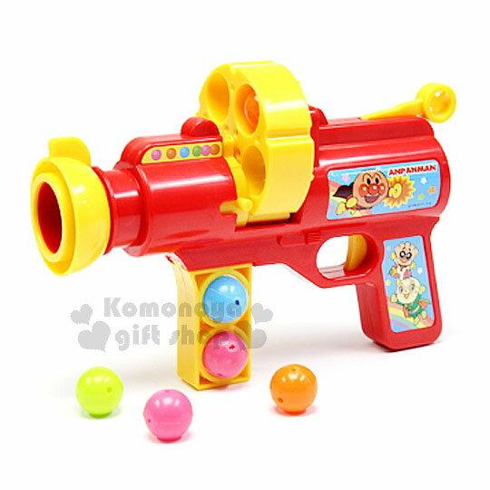 〔小禮堂嬰幼館〕麵包超人連續發射槍玩具《紅黃.朋友.橘白盒裝》適合3歲以上兒童