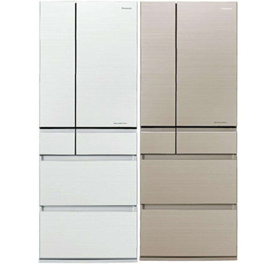 全館回饋10%樂天點數★Panasonic 國際牌 日本原裝 550L六門無邊框頂級變頻冰箱NR-F553HX-N1/NR-F553HX-W1
