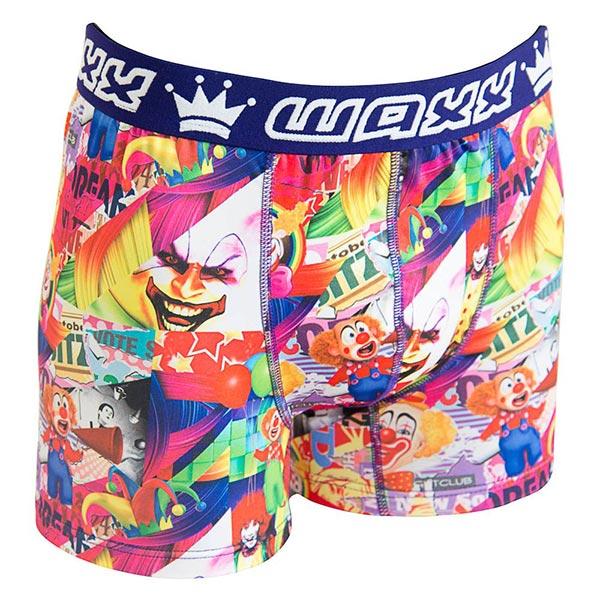 ★運動必備-限時$599★ WAXX 小丑娛樂設計款高質感吸濕排汗運動貼身內褲,132-WA-MU11132