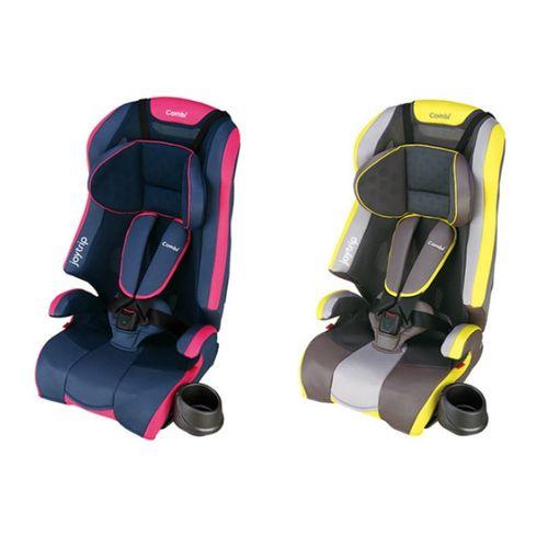 ★衛立兒生活館★康貝 Combi Joytrip MC S 1-11歲成長型汽車座椅/汽座/安全汽座(靚麗粉/活力黃)