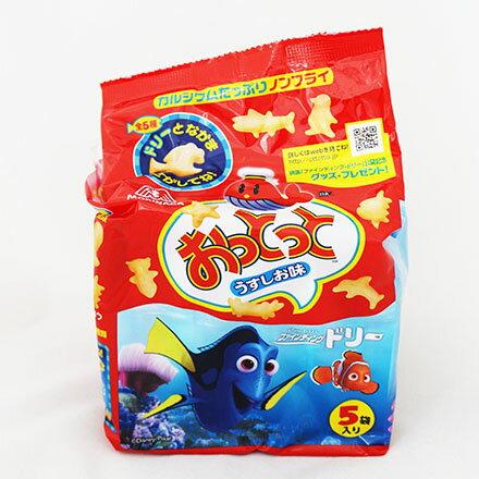 【敵富朗超巿】森永製果 魚型餅干-鹽味90g - 限時優惠好康折扣