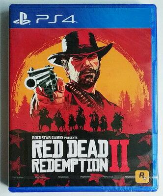 美琪PS4遊戲 荒野大鏢客2 Red Dead Redemption 2 RDR2  中文英文