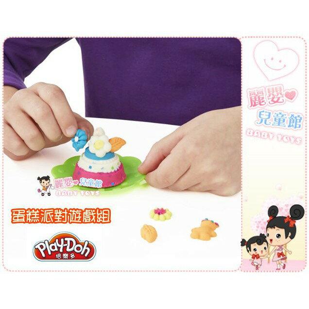 麗嬰兒童玩具館~培樂多Play-Doh創意DIY黏土-蛋糕派對遊戲組B3399 4