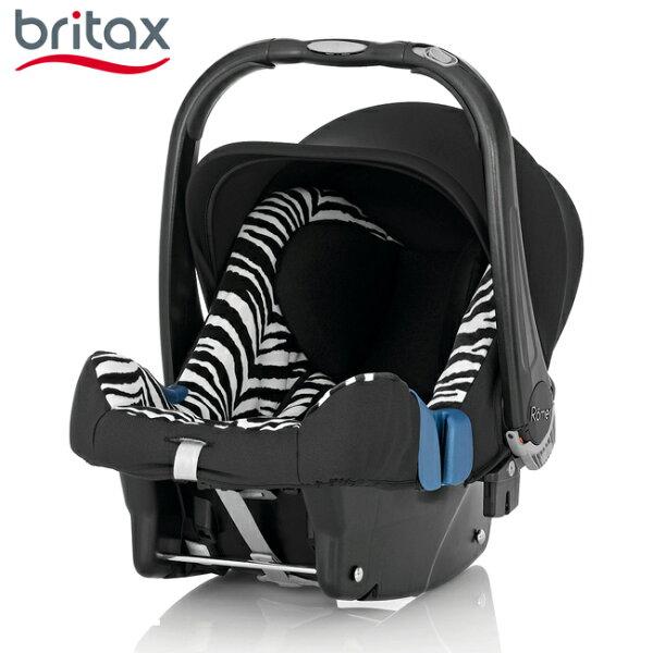 【店長指定款→買就送涼被】【Britax】BabySafePlusSHRII旗艦提籃型汽座(斑馬)