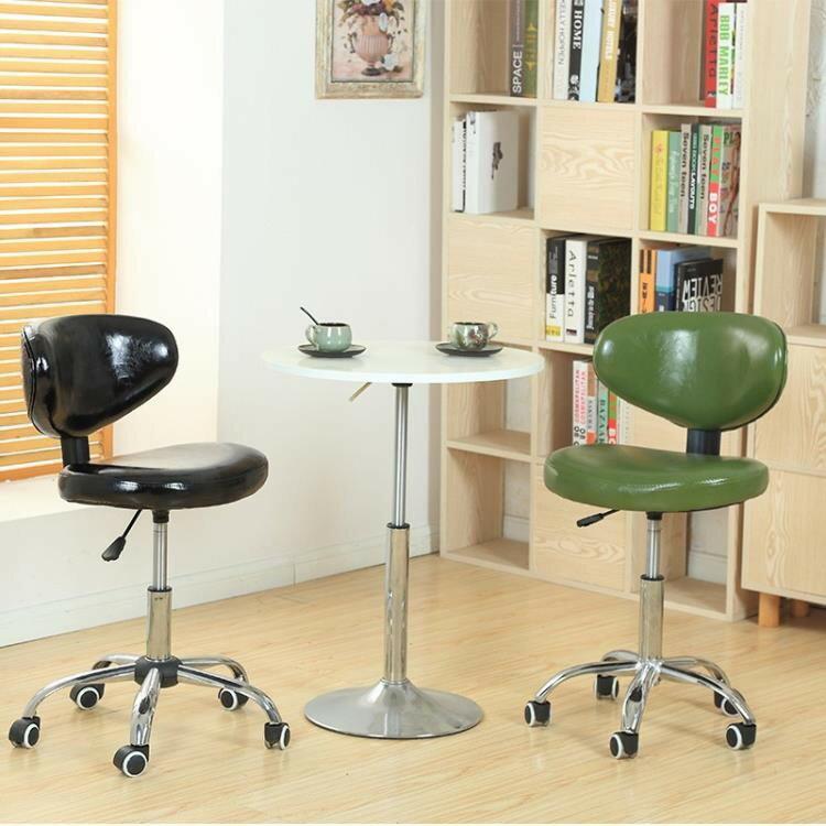學生椅書桌椅升降酒吧臺椅靠背椅小巧家用轉椅電腦椅辦公椅省空間