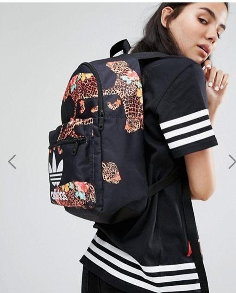 Adidas Originals愛迪達花豹書包休閒背包美國限定122990
