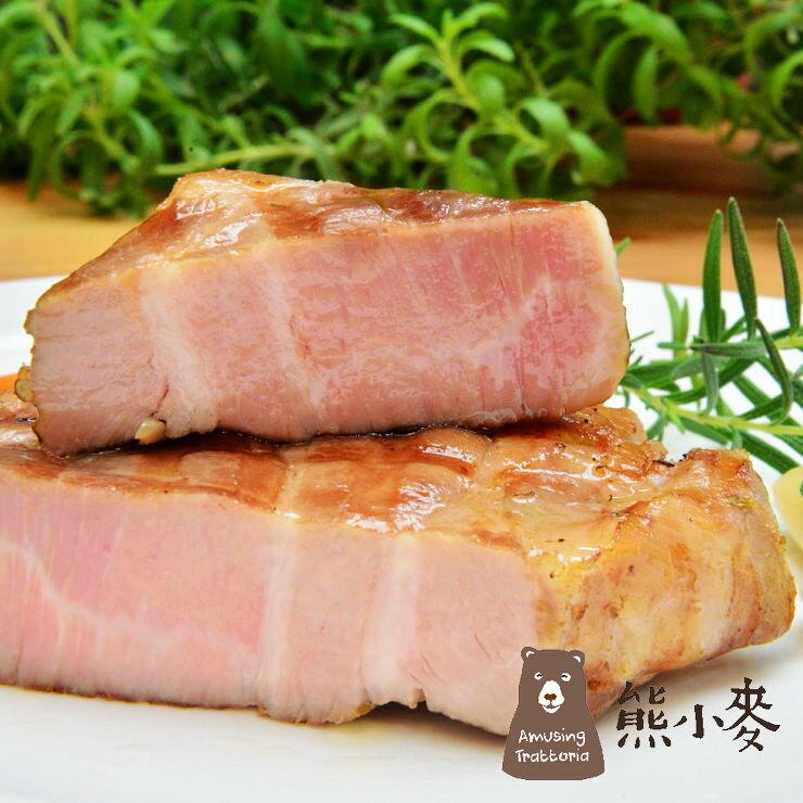 【熊小麥】舒肥厚切12盎司軟嫩梅花豬排(蒜香口味)*獨家研發舒肥豬排* 0