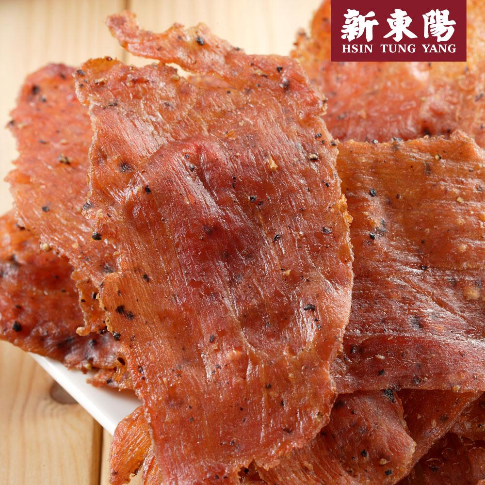 ~新東陽~黑胡椒薄片豬肉乾50g