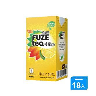 FUZE TEA飛想茶檸檬紅茶300ML*18【愛買】