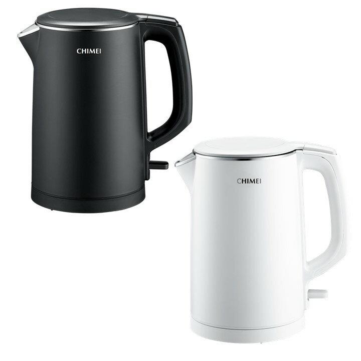 當天出貨『奇美 CHIMEI 不鏽鋼三層防燙快煮壺』1.5L KT-15GP00 電熱水壺 熱水壺 【購知足】