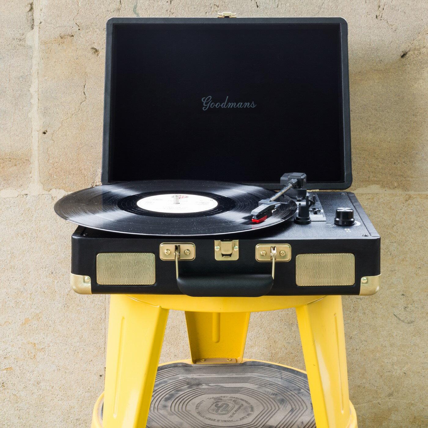 Goodmans Ealing Turntable 英國手提箱黑膠唱片機 2