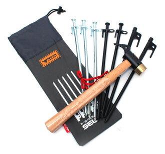 【露營趣】中和 30cm 營釘收納袋 營釘袋 地釘袋 營槌調節片收納袋 小物袋 TNR-129