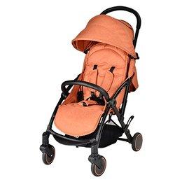 【淘氣寶寶】英國uniloveS-light歐系輕便推車橘色加贈MAXI-COSI提籃+專用前扶手【輕巧迷你收折可站】